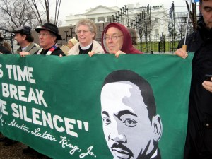 """It's Time to Break the Silence"" - MLK"
