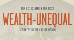 U.S. is most wealth unequal