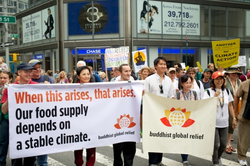 BGR at Peoples Climate March