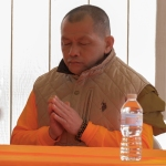Lao monk at temple