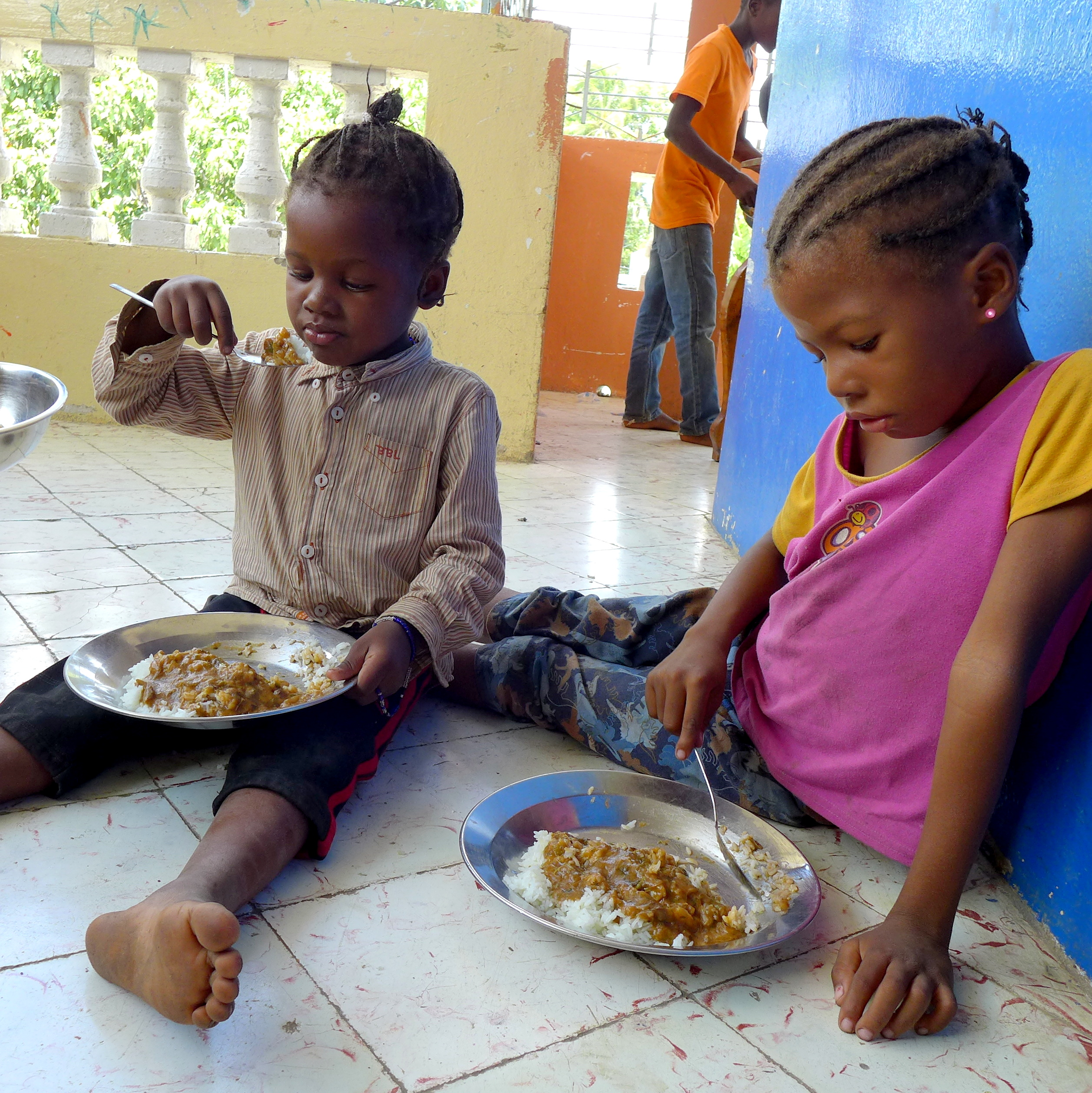 Bolstering A Food Budget For Hungry Kids In Haiti